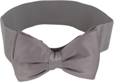 Aadi And Sons Women Casual Grey Fabric Belt