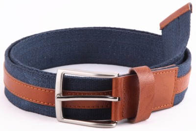 Bluth Men, Women Casual Blue Canvas Belt