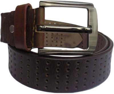 Hevan Men Casual Brown Genuine Leather Belt