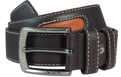Ammvi Creations Men Evening Brown Artificial Leather Belt