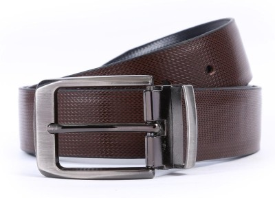 Bluth Men Formal Brown Artificial Leather Belt
