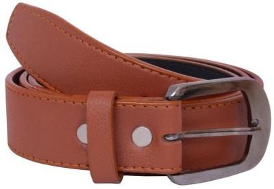 Creative Terry Men Brown Genuine Leather Belt