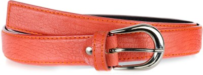 Allura Women Evening/Party, Casual, Semi-formal Orange Synthetic Belt