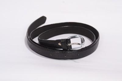 Victoria Secret Women Casual Black Genuine Leather Belt
