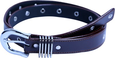 Contra Girls Brown Artificial Leather Belt