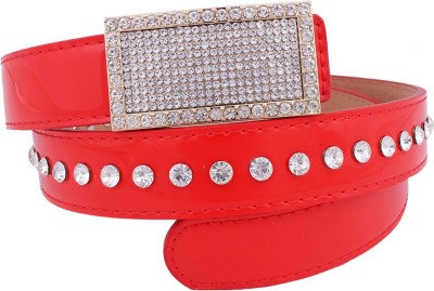 Super Drool Women, Girls Casual, Party, Evening Red Synthetic Belt