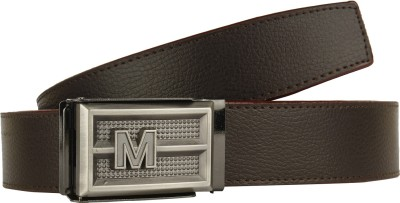 DnS Boys, Men Casual, Party, Formal Brown Artificial Leather Belt