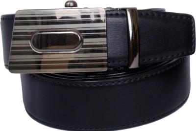 The Brandstand Men Formal Black, Brown Texas Leatherite Reversible Belt