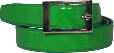 Ekora Girls Casual Green Artificial Leather Belt
