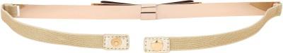 Naitik Products Women Casual White, White Metal Belt