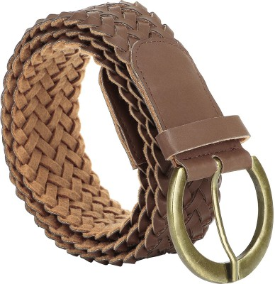 Jainsons Women Casual Brown Artificial Leather Belt
