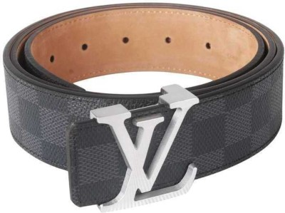 Rafea Boys, Men Grey Artificial Leather Belt