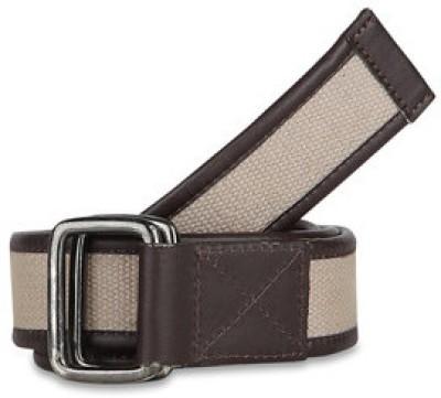 Paradigm Design Lab Men Casual Beige Genuine Leather Belt