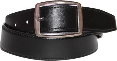 Assashion Boys, Men Black Texas Leatherite Belt