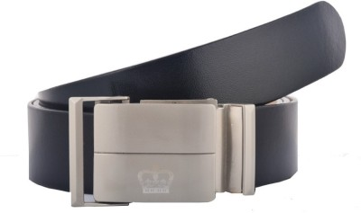 GLB Men, Boys Casual, Party, Formal, Evening Black Genuine Leather Belt