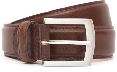 Kethini Men Formal Tan Genuine Leather Belt