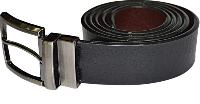 kesari Men Black Artificial Leather Belt
