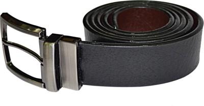 Kesari Men Black Artificial Leather Belt