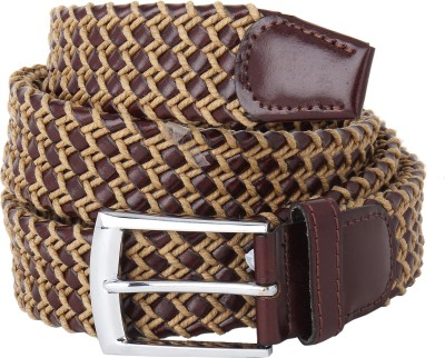 Naitik Products Women Casual Brown, Beige Genuine Leather Belt