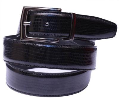 Moac Men Casual Black Artificial Leather Belt
