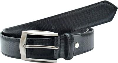 BROUNPLUS Boys, Men Evening, Formal, Party Black Artificial Leather Belt
