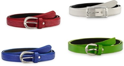 Arum Girls Multicolor Artificial Leather Belt