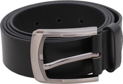 Flirt Men, Boys Black Genuine Leather Belt