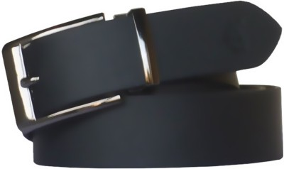 Kesari Men Casual Black Genuine Leather Belt
