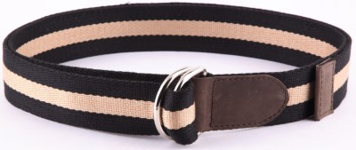 Bluth Men, Women Casual Black Canvas Belt