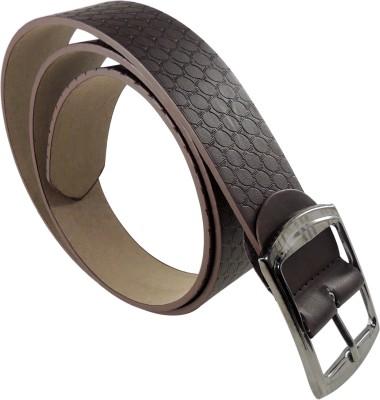 RABARMAN Men, Boys Brown Artificial Leather Belt