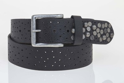 Tregus Men Casual Black Genuine Leather Belt