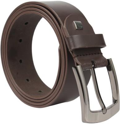 Umda Men Formal Brown Genuine Leather Belt