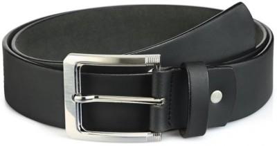 Rico Sordi Men Casual Black Genuine Leather Belt