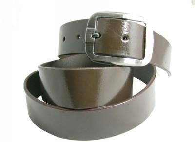 Shilimukh Parrk Men Formal Brown Genuine Leather Belt