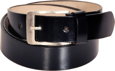 Swan Collection Boys, Men Casual, Formal Black Artificial Leather Belt
