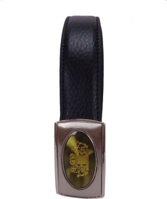 Revo Men Formal Black Synthetic Reversible Belt