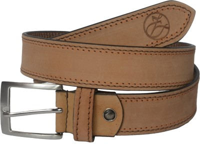 Czar Enterprises Boys Casual Tan Genuine Leather Belt