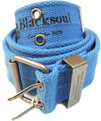 Blacksoul Men Casual Blue Synthetic Belt
