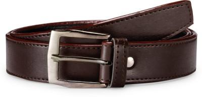 Arum Men Brown Genuine Leather Belt
