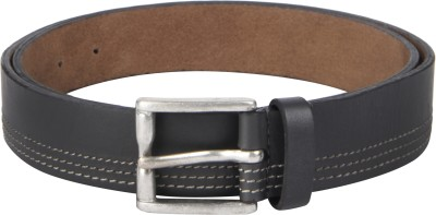 Kaizu Men Formal, Casual Black Genuine Leather Belt