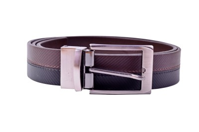 AER LEATHER Boys, Men Formal, Evening, Party Black Artificial Leather Belt