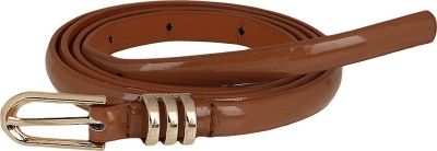 Aadi And Sons Women Casual Gold Artificial Leather Belt