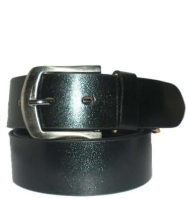 Hevan Men Casual Black Genuine Leather Belt