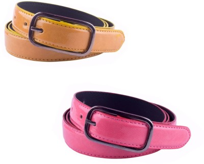 Modishera Women, Girls Casual, Party Multicolor Artificial Leather Belt
