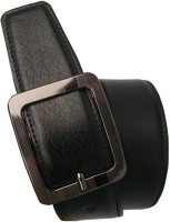 Generic Men Formal, Casual Black Artificial Leather Reversible Belt