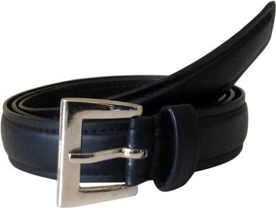 TheGudLook Women Casual Black Artificial Leather Belt