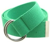 BC Belts Men Green Canvas Belt