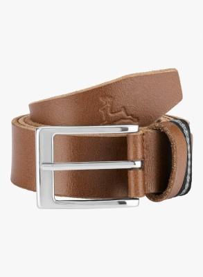Parx Men Brown Genuine Leather Belt