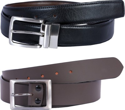 Kritika Men Multicolor Genuine Leather Belt