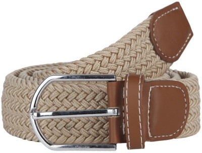 American Swan Men Casual Beige Synthetic Belt